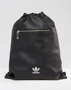 Черный рюкзак adidas Originals Gym BK6957 - Черный