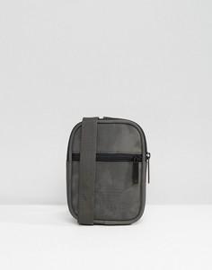 Темно-серая сумка для путешествий в стиле casual adidas Originals BK7083 - Черный