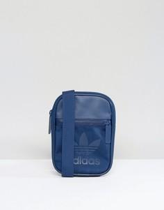 Синяя спортивная сумка для авиапутешествий adidas Originals BK6747 - Синий