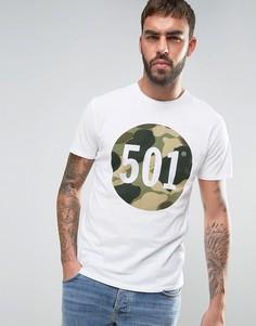 Футболка с графическим принтом Levis 501 - Белый Levis®