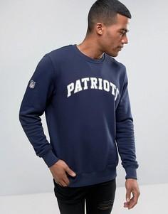 Свитшот с логотипом спортивного клуба Patriots New Era - Синий