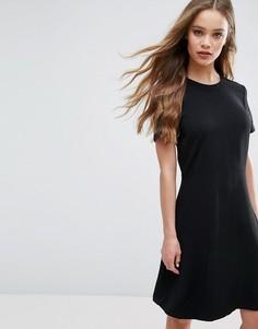 Платье-трапеция Samsoe & Samsoe Ege - Черный