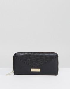 Черный кошелек со вставкой Lipsy - Черный