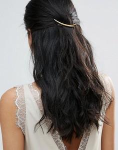 Заколка для волос в форме кости DesignB - Золотой