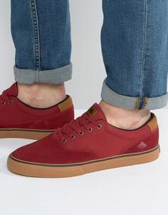 Красные кроссовки Emerica Provost - Красный