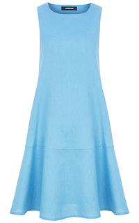 Голубое платье-сарафан La Reine Blanche
