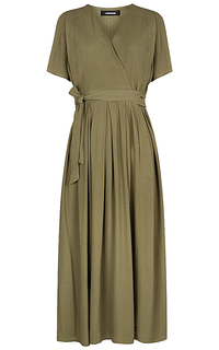платье с запахом La Reine Blanche