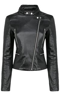 Куртка из экокожи с отстрочкой Neohit