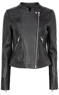 Женская кожаная куртка La Reine Blanche
