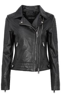 Куртка-косуха из натуральной кожи La Reine Blanche