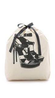 Сумка-органайзер с изображением босоножек на высоком каблуке Bag All