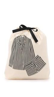 Сумка-органайзер с изображением пижамы в полоску Bag All