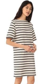 Платье-футболка Dodora в полоску Acne Studios