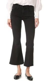 Укороченные расклешенные джинсы Le Frame