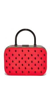 Объемная сумка с рамкой Drew Watermelon Alice + Olivia