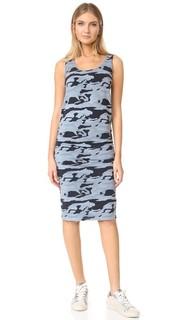 Камуфляжное платье со сборками Monrow