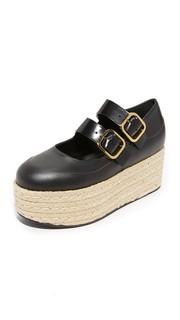 Туфли в стиле «Мэри Джейн» с двумя ремешками Marni