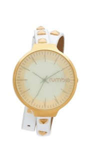 Часы Orchard Snow Patrol с заклепками и ремешком в два оборота Rumba Time