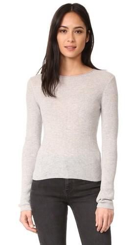 Укороченный кашемировый свитер
