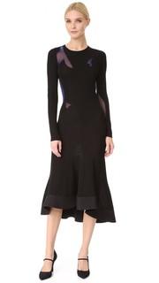 Платье с длинными рукавами Esteban Cortazar