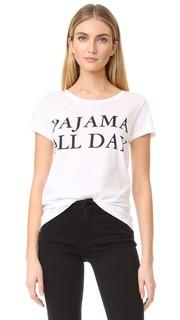 Футболка Pajama All Day Happiness
