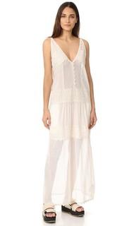 Кружевное платье в горошек Just Cavalli