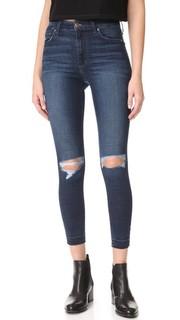 Укороченные джинсы-скинни Charlie с высокой посадкой Joes Jeans