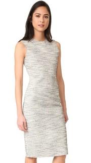 Платье-халат из твида Eano Branson Theory
