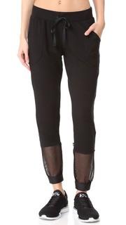 Укороченные спортивные брюки с сетчатыми вставками Terez