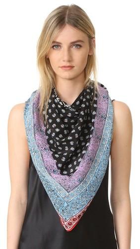 Шелковый шарф Telsa