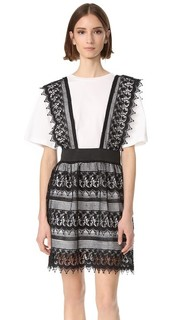 Кружевное платье-рубашка из двух частей English Factory