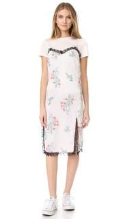 Платье без рукавов с принтом Peony Blossom English Factory