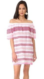 Платье с открытыми плечами Tabtab Lemlem