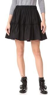 Короткая юбка с оборками Marc Jacobs