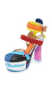 Туфли на платформе Moschino