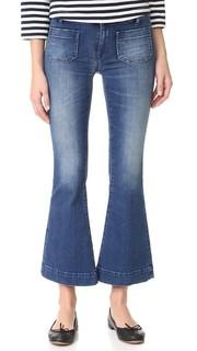 Короткие расклешенные джинсы Penelope Seafarer