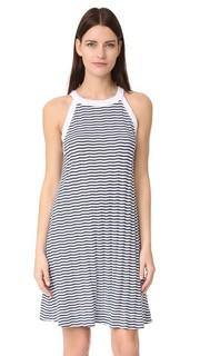 Расклешенное платье без рукавов Three Dots