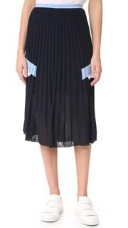 Трикотажная юбка Versace