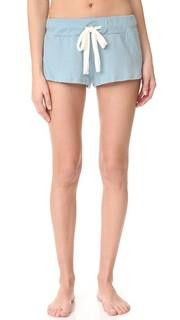 Меланжевые пижамные шорты Eberjey
