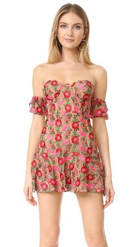 Мини-платье Amelia без бретелек