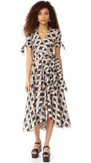 Платье Valerie с принтом в виде цепочки Milly