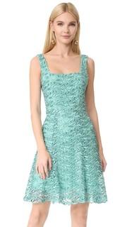 Платье-трапеция Monique Lhuillier