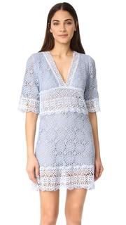 Платье с рукавами по локоть и V-образным вырезом Temptation Positano
