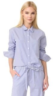 Пижамная рубашка в полоску Anine Bing