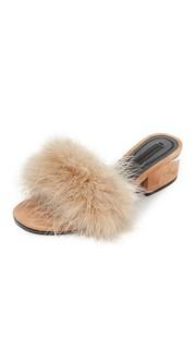 Туфли без задника Lou на среднем каблуке Alexander Wang