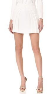 Многослойная мини-юбка Brandon Maxwell
