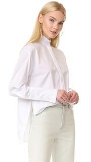 Рубашка с бахромой Dion Lee