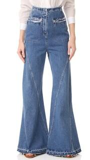 Расклешенные джинсы с высокой талией Esteban Cortazar