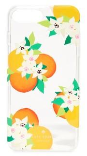 Чехол для iPhone 7 Plus с апельсинами и цветами Kate Spade New York