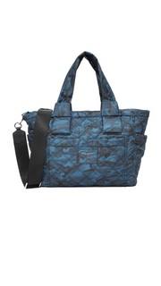 Нейлоновая сумка для детских вещей с камуфляжным принтом Marc Jacobs